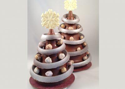 kerstboom chocolade