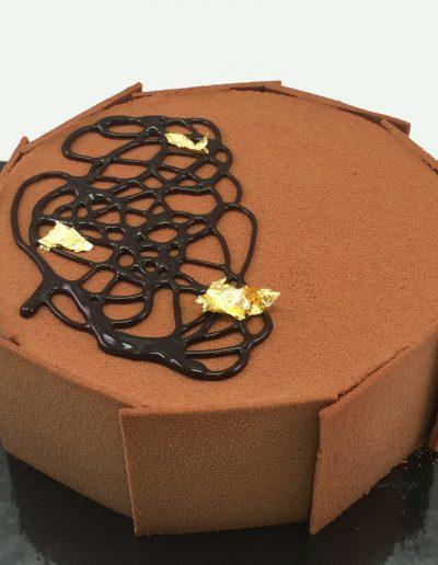 Duo Chocolade taart 7-'14